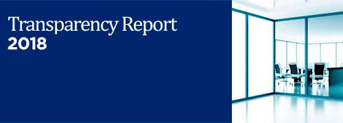Transparency report 2015